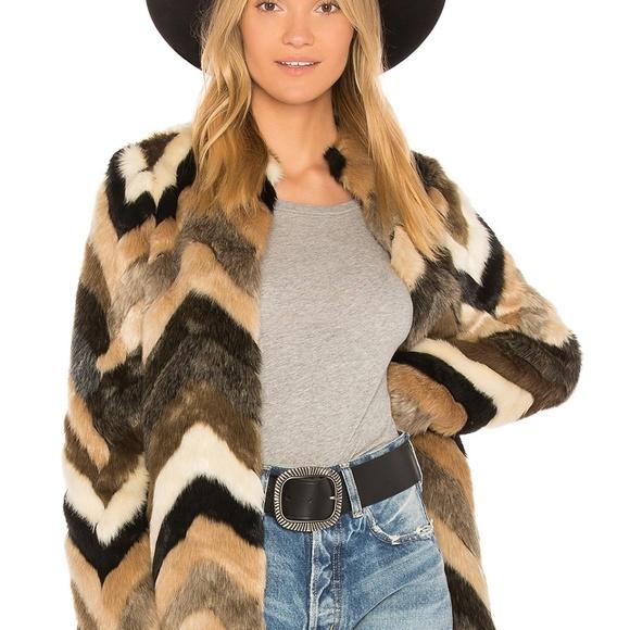 ca0fd86e09 Amuse Society Jackets & Coats | Waylon Faux Fur Jacket Nwt Size S ...
